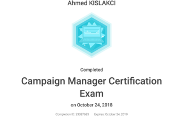Campaign-Manager-Certificate